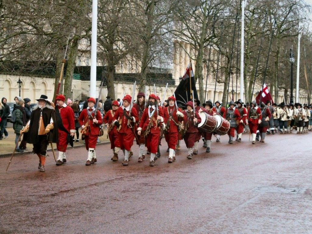 The Regiment on the Mall