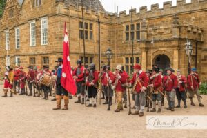 Soldiers at Delapre Abbey
