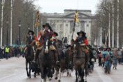 The King's Army on the Mall